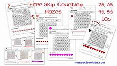 skip counting mazes worksheets 11955 s skip counting mazes 2s 3s 4s 5s 10s free homeschool den