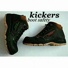 jual sepatu boots kickers safety casual pria boots proyek j55 di lapak bbralow bbralow