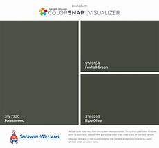 i found these colors with colorsnap 174 visualizer for iphone by sherwin williams forestwood sw