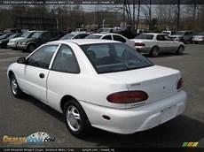 1996 mitsubishi mirage s coupe innsbruck white gray photo 4 dealerrevs com