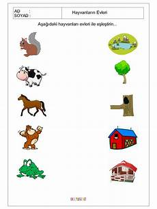 animal homes worksheets 13902 free printable matching animals to their home worksheet 2 crafts and worksheets for
