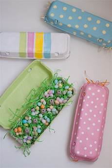 gift with design painted egg cartons this