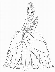 free printable princess coloring pages for