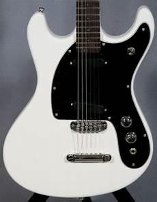 ii guitars mosrite ii guitar pearl white ed guitars