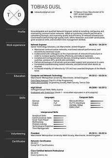 resume exles by real network engineer resume sle kickresume
