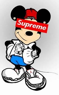 supreme spongebob wallpaper mickey mouse supreme in 2019 mickey mouse wallpaper