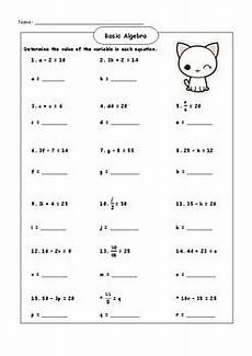algebra worksheets simple 8573 basic algebra worksheet by jobelle laplano teachers pay teachers