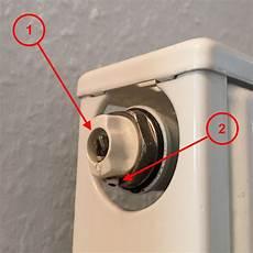 Heizung Entlüften über Thermostat - heizk 246 rper wird nicht warm hilfe was tun entl 252 ften sie