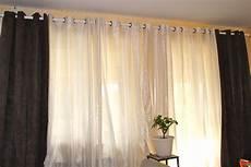 rideau et voilage sur même tringle janvier 2013