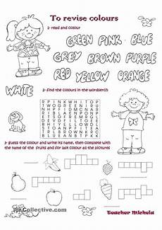 colors worksheet islcollective 12991 to revise colours esl worksheets of the day activities learn lessons