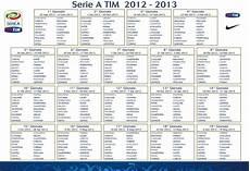 calendrier serie a 2016 calendario serie a tim stagione 2012 13 inter club