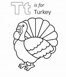 T Is For Thanksgiving Coloring Pages Thanksgiving Coloring Pages And Worksheets Learning