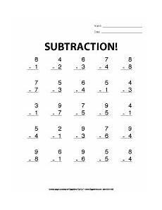 1st grade math worksheet subtraction grade worksheets giggletimetoys