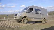 the test of the 4x4 sprinter road