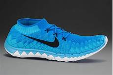 nike free flyknit 3 0 mens running shoes photo blue