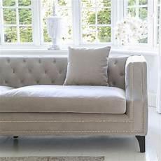 Sofa Samt Grau - grey velvet sofa luxury seating contemporary sofa