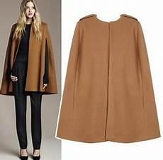 2018 Style S Cloak Woolen Coat Fashion