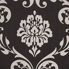 barock tapete schwarz barock tapete ornament klassik vliestapete schwarz