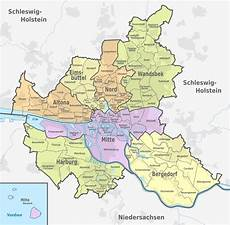 File Hamburg Administrative Divisions Districts