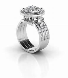 timeless halo diamond wedding band empress edition betterthandiamond com