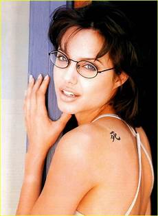 whatevercathieb celebrity female tattoos angelina jolie