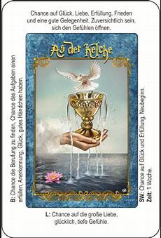 Tarot Osorio Mit Text As Der Kelche Lenormand