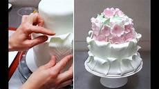 Kuchen Mit Fondant - simple fondant cake decorating tutorial decorar con