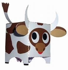 como hacer una vaca de material reciclado construir una cajita en forma de vaca ed 250 kame