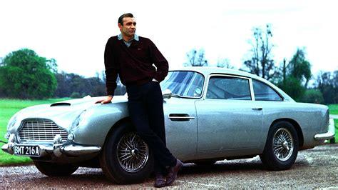 Movies Sean Connery James Bond Car Aston Martin Db5 007