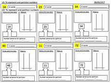 place value and partitioning worksheets 5642 place value year 2 representing and partitioning numbers worksheet differentiated 3 ways by