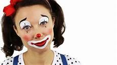 beginners clown painting tutorial with ashlea henson