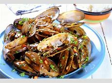 clams in black bean sauce_image