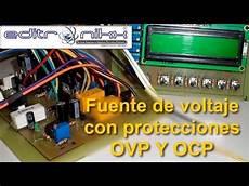 fuente regulable con proteccin de sobre voltaje y sobre corriente con voltmetro how to save