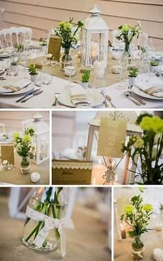 Lanterne Centre De Table Et Dentelle D 233 Co Et Fleurs By