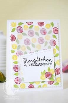 swirly flowers geburtstagskarte haus zu verschenken