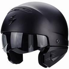 Scorpion Exo Combat Matt Black Helmet 183 Motocard