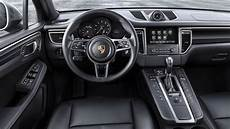 porsche macan interieur porsche macan see the changes side by side