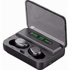 Digital Display Wireless Stereo Headphone Waterproof by Mini Wireless Bluetooth Headphone Bluetooth 5 0 Earphone