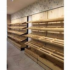 Bakeey Wall Mounted Large Screen Portable by Wall Mounted Wooden Bakery Display Rack 5 Shelves Rs