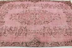 vintage teppich rosa in 280x180cm 1011 5106 carpetido de