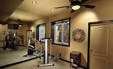 paint color for a home gym timbers traditional home gym denver by basements beyond