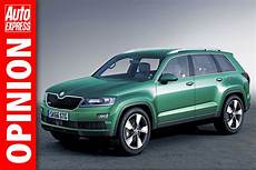 Skoda 7 Sitzer - seven seater and coupe 4x4 to lead skoda suv assault