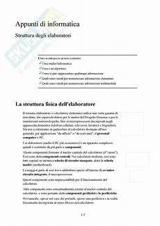 dispense informatica di base informatica di base appunti