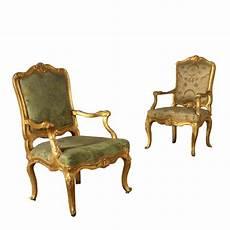 sedie poltrone due poltrone dorate sedie poltrone divani antiquariato