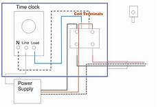 wiring diagram for time clock and contactor electrical education electricians training how to wire a time clock