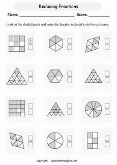 fraction worksheets shaded unshaded 4095 shaded fractions shapes printable grade 3 math worksheet