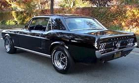 Raven Black 1967 Ford Mustang Hardtop  MustangAttitude