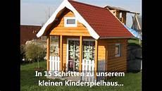 kinderspielhaus in 15 schritten zu leuchtenden