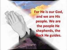 psalm 95 responsorial psalm if today you hear his voice