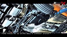 focus st 2 5 turbo bull x exhaust catback y style preview